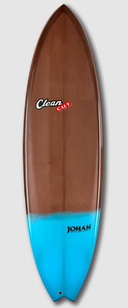 Torpedo chocolat turquoise