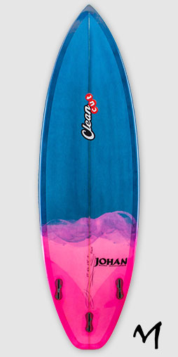 M shape par Johan surf machines