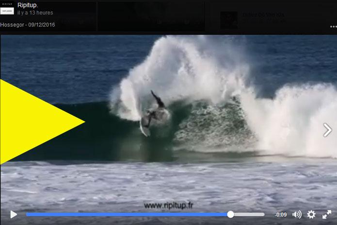 Jorgann Couzinet vidéo Hossegor