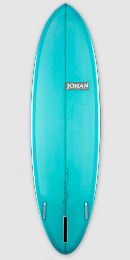 Tracker, shape par Johan Surf Machines