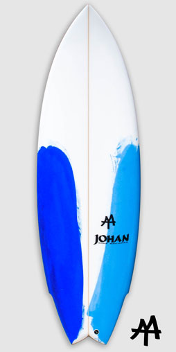 Modern-twin-fin-surfboard